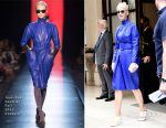 Katy Perry In Jean-Paul Gaultier Couture & Sonia Rykiel - Out In Paris & One Love Manchester Benefit Concert