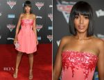 Kerry Washington In Oscar de la Renta - 'Cars 3' LA Premiere