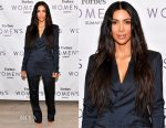 Kim Kardashian West In Vintage Jean Paul Gaultier - 2017 Forbes Women's Summit