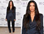 Kim Kardashian West In Vintage Jean Paul Gaultier - 2017 Forbes Women's Summit