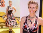 Kristen Wiig In  Marc Jacobs - 'Despicable Me 3' LA Premiere