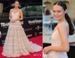 Laura Haddock In Miu Miu - 'Transformers: The Last Knight' Chicago Premiere