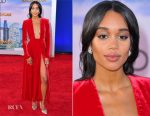 Laura Harrier In Calvin Klein By Appointment - 'Spider-Man: Homecoming' LA Premiere