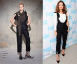 Lily James In Isa Arfen - 'Good Day L.A.'