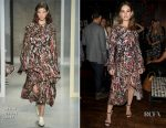 Lily James In Marni - 'Baby Driver' Premiere After Party