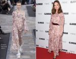 Lily James In Preen -  2017 Glamour Women Of The Year Awards