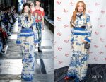 Lindsay Lohan In Gucci - British Asian Trust Annual Iftar Ramadan