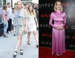 Lucy Boynton In Chloe & Valentino - Build Series Presents: 'Gypsy' & New York Screening