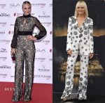 Malin Akerman In Sebastian Gunawan Red & Gosia Baczynska - Monte Carlo TV Festival Opening Ceremony & 'Billions' Photocal
