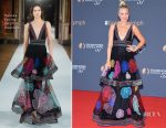 Malin Akerman In Yanina Couture - Monte Carlo TV Festival Closing Ceremony