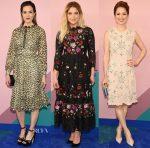 Mandy Moore, Ashley Benson & Ellie Kemper In Kate Spade New York - 2017 CFDA Fashion Awards
