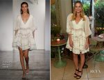 Margot Robbie In Zimmermann - Zimmermann London Flagship Store Opening Party