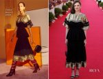 Marion Cotillard In Chloé - 31st Cabourg Film Festival Closing Ceremony