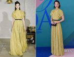 Mary Elizabeth Winstead In Lela Rose - 2017 CFDA Fashion Awards