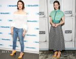 Mary Elizabeth Winstead In Rebecca Minkoff & Lela Rose - SiriusXM Studios & Build Presents  'Fargo'