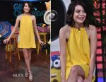 Miranda Cosgrove In Lisa Perry - 'Despicable Me 3' Miami Press Day
