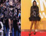 Naomi Campbell In Elie Saab - 2017 NBA Awards