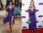 Nicky Hilton In Alberta Ferretti - Animal Haven 50th Anniversary Gala