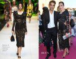 Nieves Alvarez In Dolce & Gabbana - Bulgari Party