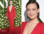 Olivia Wilde In Michael Kors - 2017 Tony Awards