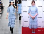 Ophelia Lovibond In Bora Aksu - 2017 Glamour Women Of The Year Awards