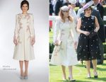 Princess Beatrice & Princess Eugenie of York at Ascot 2017