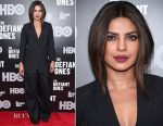 Priyanka Chopra In Brunello Cucinelli - 'The Defiant Ones' New York Premiere