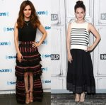 Rachel Bilson In Zimmermann + 31. Phillip Lim -  SiriusXM & Build Series: CMT's Nashville