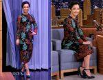 Ruth Negga In Dolce & Gabbana - The Tonight Show Starring Jimmy Fallon