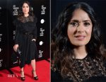 Salma Hayek In Stella McCartney - 'Miguel Arteta's Beatriz At Dinner' Sundance London Screening