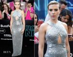 Scarlett Johansson In Michael Kors Collection - 'Rough Night' New York Premiere