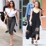 Olivia culpo in jacquemus maison st germain la debut red carpet fashion a - La maison de selena gomez ...