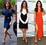 Selena Gomez Wears Five Looks In One Day To Promote 'Bad Liar'