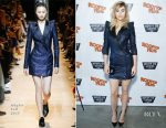 Suki Waterhouse In Mugler - 'The Bad Batch' New York Rooftop Screening