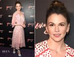 Sutton Foster In Saloni - 'Younger' Season Four Premiere Party