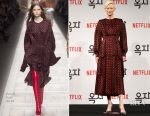 Tilda Swinton In Fendi - 'Okja' Seoul Press Conference