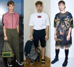 Tommy Dorfman FROW at Spring 2018 Menswear Fashion Week