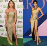 Who Wore Angelys Balek Better? Chrissy Teigen or Praya Lundberg?