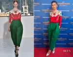 Zendaya Coleman In Delpozo - 'Spider-Man: Homecoming' Barcelona Photocall