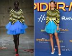 Zendaya Coleman In Molly Goddard - 'Spider-Man: Homecoming' London Photocall