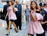 Zendaya Coleman In Ulyana Sergeenko - Good Morning America