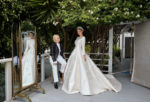 Miranda Kerr Weds Evan Spiegel In Christian Dior Haute Couture