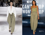 Alesha Dixon In Stella McCartney - 'Can't Stop, Won't Stop A Bad Boy Story' London Screening