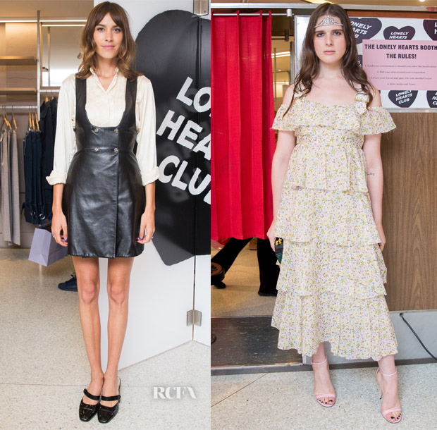 Alexa Chung & Bergdorf Goodman Host  The 'Lonely Hearts Club' Event