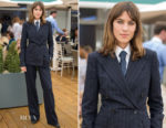 Alexa Chung In Ralph Lauren Collection - Wimbledon Tennis Championships