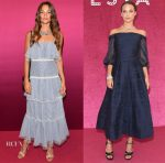 Alicia Vikander In Prabal Gurung & Marchesa Notte - Bvlgari Festa Party