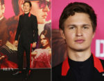 Ansel Elgort In Givenchy by Riccardo Tisci - 'Baby Driver' Sydney Premiere