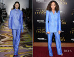 Ashley Madekwe In Emilio Pucci -  'The Last Tycoon' LA Premiere