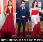 Best Dressed Of The Week - Kaitlyn Dever in Prada, Lily Collins in Reem Acra & Matt Bomer in Ermenegildo Zegna Couture