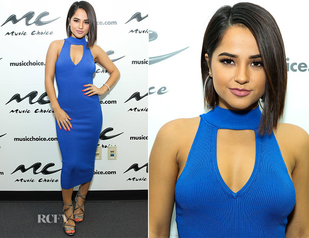 Becky G visits Music Choice in ARC